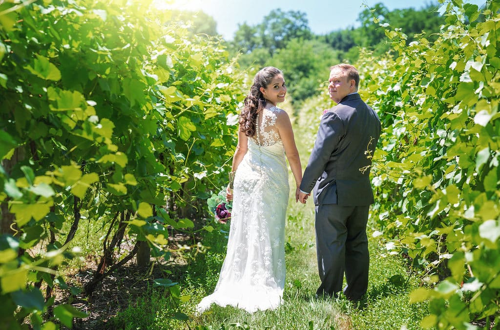 Vineyard Wedding: Elizabeth & Dave