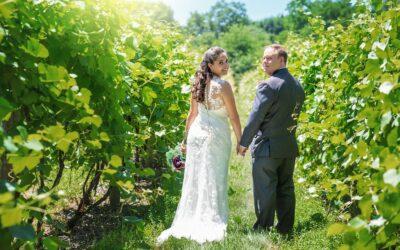 Vineyard Wedding: Elizabeth & Dave