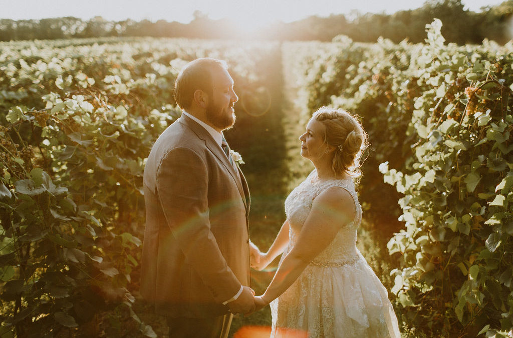 Vineyard Wedding: Melissa & Frank