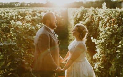 Vineyard Wedding: Melissa & Frank