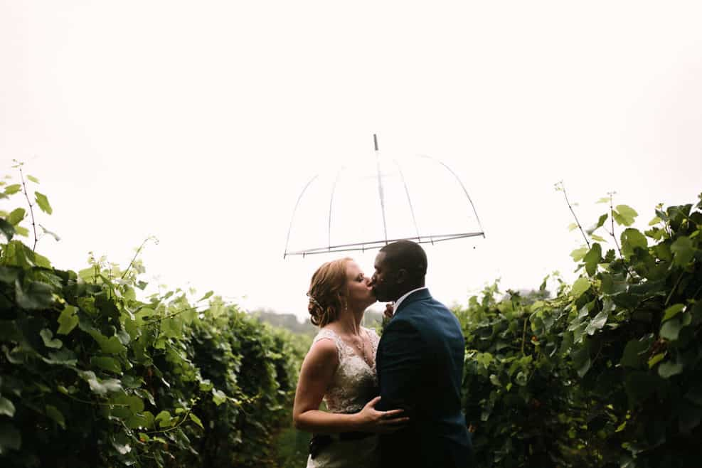 outdoor wedding venues vineyard umbrella