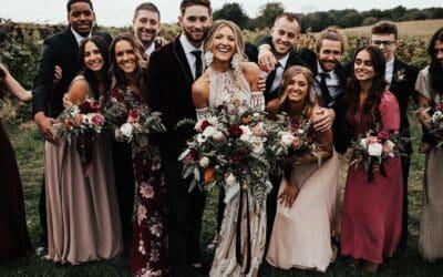 How To Plan Your Michigan Boho Wedding