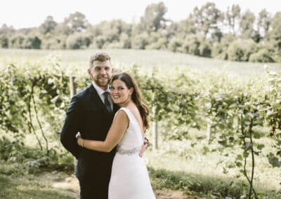 bride and groom vine photo
