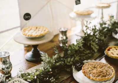pies for wedding
