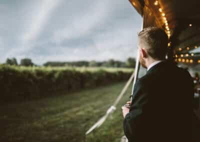 wedding tent storm