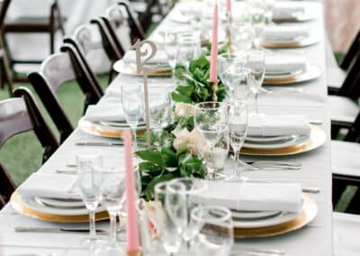 long table wedding decorations