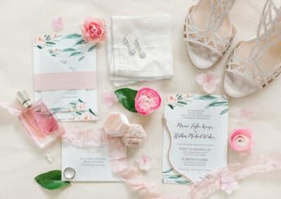 personalized wedding stationary