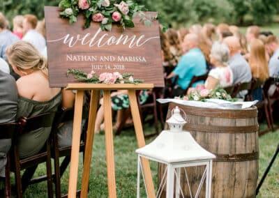 wedding ceremony welcome