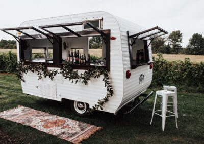 wedding bar camper